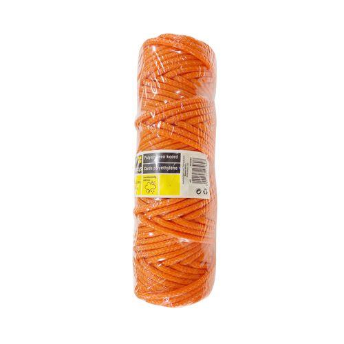Sencys polyethyleen koord oranje 3,5 mm x 50 m