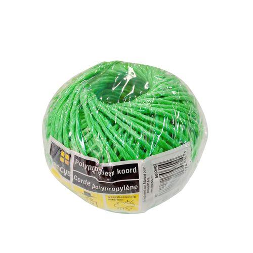 Sencys polypropyleen koord groen 1 mm x 50 m