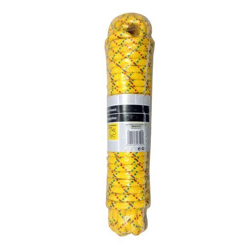 Sencys polypropyleen koord geel 10 mm x 15 m
