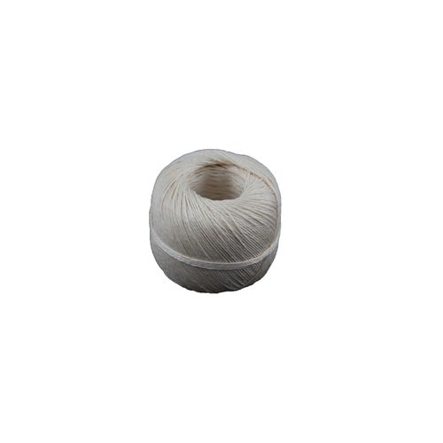 Sencys vlas touw gebleekt 2-draad 0,5mm 120m