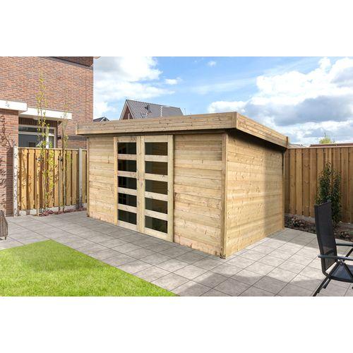 Solid tuinhuis Malmo hout 392x304cm