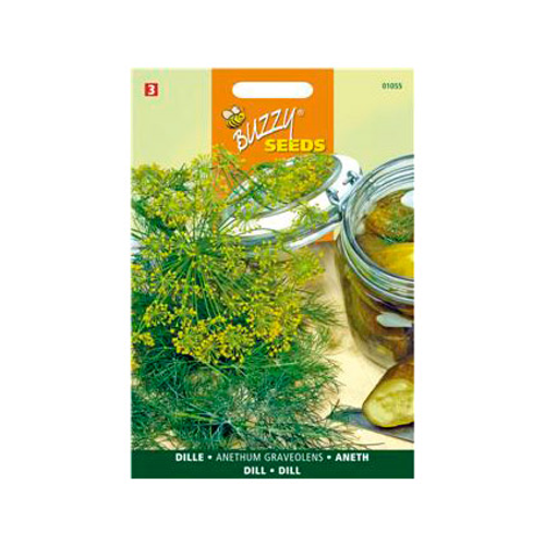 Buzzy seeds zaden dille