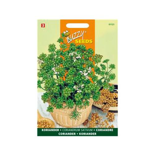 Buzzy seeds zaden bladkoriander