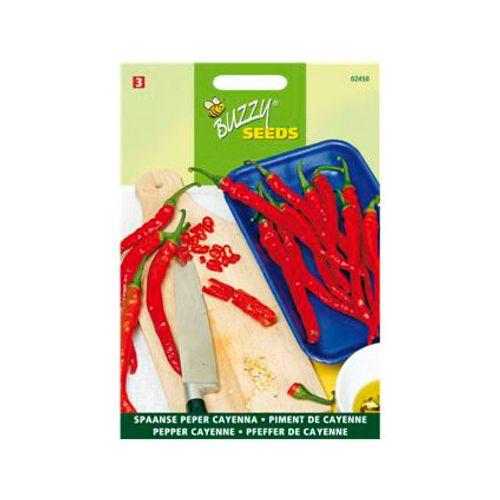 Buzzy seeds zaden peper cayenne