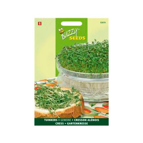 Buzzy seeds zaden tuinkers gewone