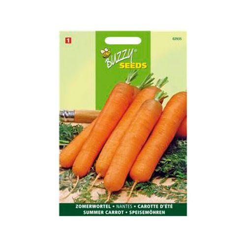 Buzzy seeds zaden wortel nantes 2 halflange