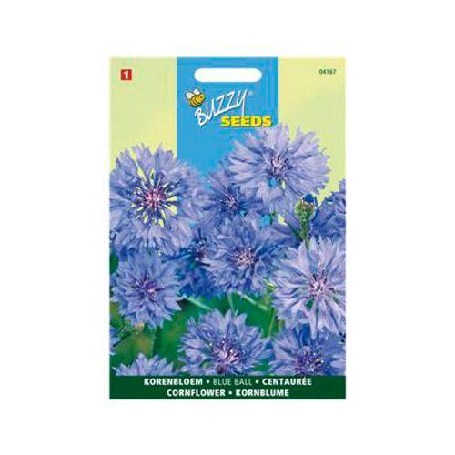 Buzzy seeds zaden korenbloem blue ball