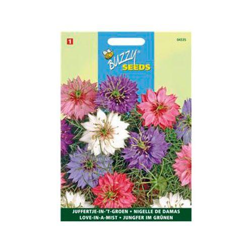 Buzzy seeds zaden juffertje-in-'t-groen persian jewels