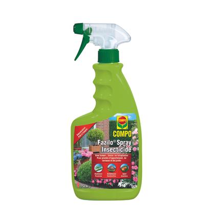 Insecticide prêt à l'emploi Compo 'Fazilo Spray' 750 ml