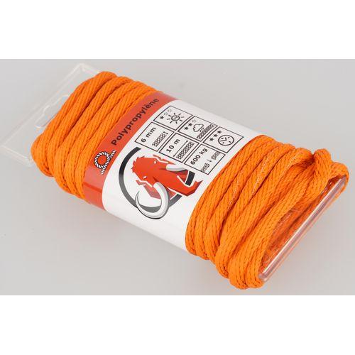 Mamutec touw polipropyleen oranje 6 mm x 10 m