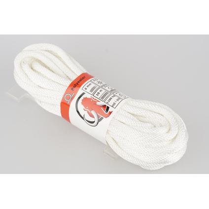 Mamutec touw polyester wit 8 mm x 10 m