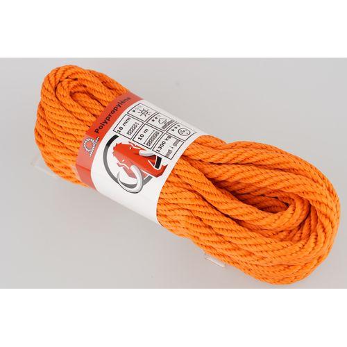 Mamutec touw polipropyleen oranje 10 mm x 10 m
