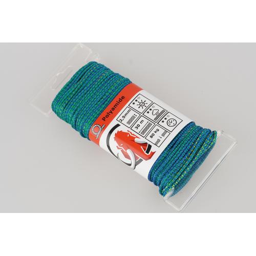 Mamutec touw polyamide groen / blauw / oranje 2,5 mm x 30 m