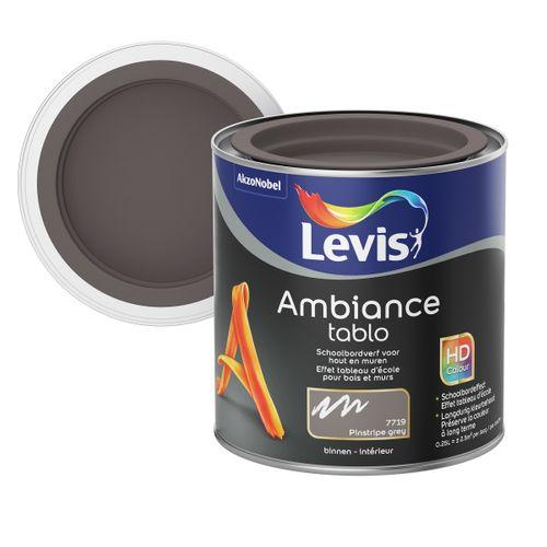 Peinture tableau Levis Ambiance Tablo pinstripe grey extra mat 250ml