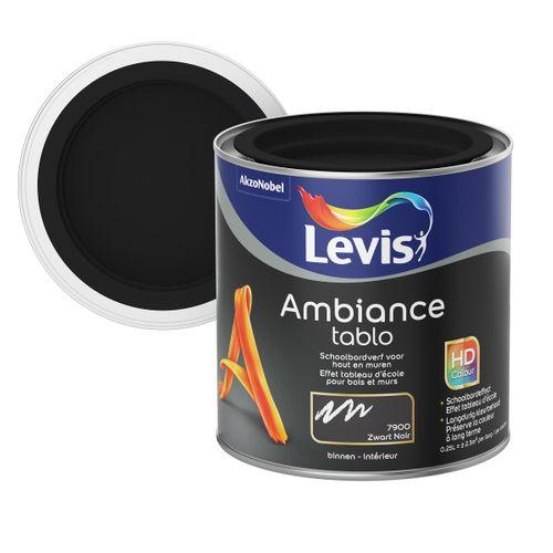 Peinture tableau Levis Ambiance Tablo black extra mat 250ml