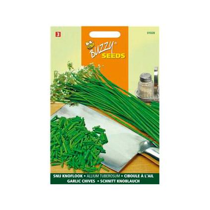 Buzzy seeds zaden bieslook knoflooksmaak
