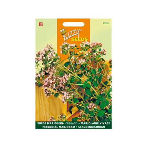 Buzzy seeds zaden wilde marjolein oregano