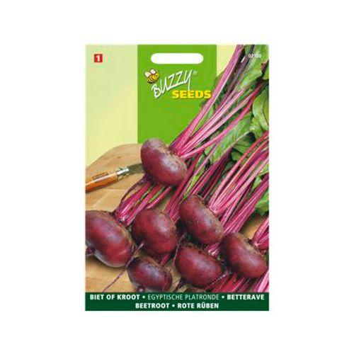 Buzzy seeds zaden biet of kroot egyptische platronde