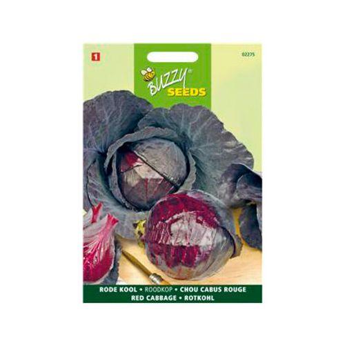 Buzzy seeds zaden rode kool roodkop