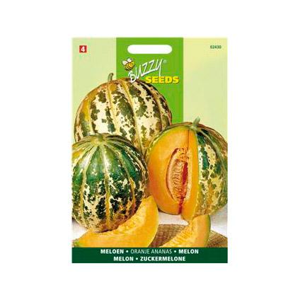 Buzzy seeds zaden meloen oranje ananas
