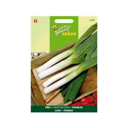 Buzzy seeds zaden prei herfstreuzen 2