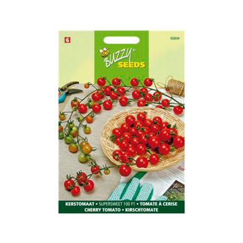 Buzzy seeds zaden kerstomaat super sweet 100 f1
