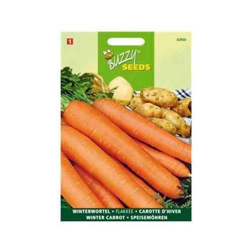 Buzzy seeds zaden wortel flakkeese 2 stomppunt