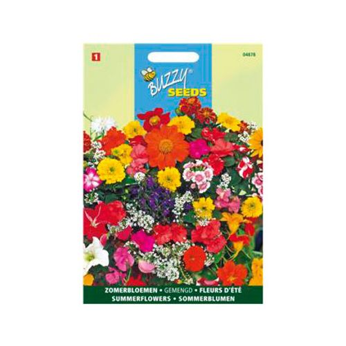Buzzy seeds zaden zomerbloemen gemengd