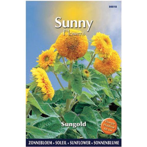 Sunny flowers zaden zonnebloem sungold