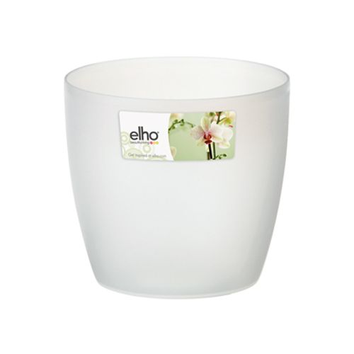 Pot Elho 'Brussels Orchid' transparent 16 cm
