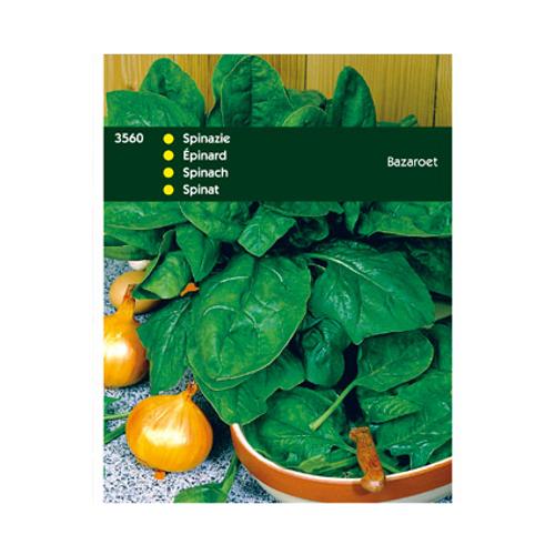 Zaden spinazie bazaroet