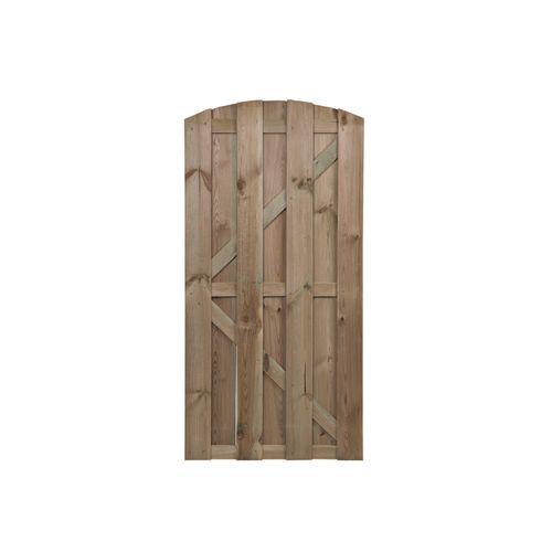 Tuinpoort Robusto grenen recht 90x180cm
