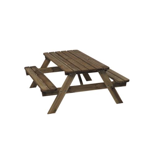 Picknicktafel kinderen 120x95cm hout