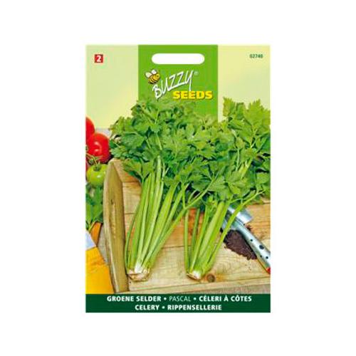 Buzzy seeds zaden groene selderie pascal