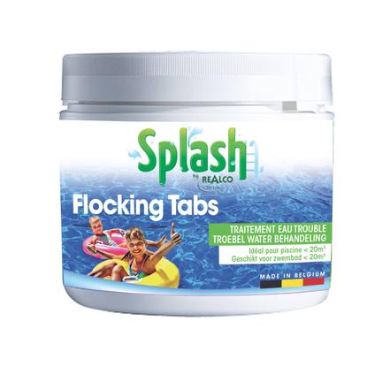 Splash vlokmiddel voor troebel water Flocking Tabs 20x25g