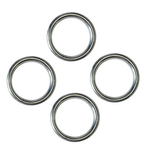 Sencys gesloten ring staal Ø 3,5 x 32 mm - 4 stuks