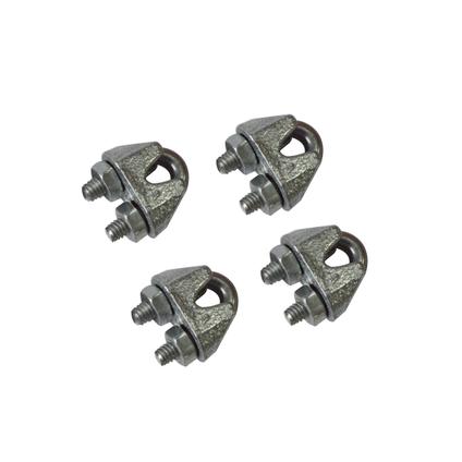 Sencys kabelklem beugel staal grijs Ø 3 mm - 4 stuks