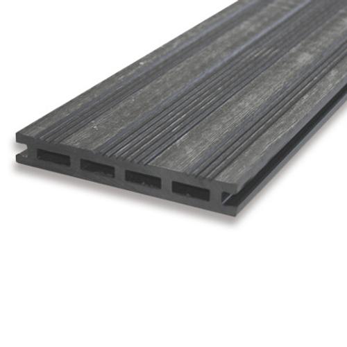 Planche de terrasse en WPC composite anthracite