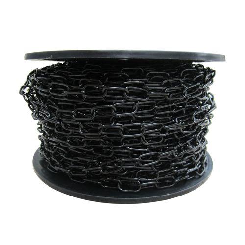 Sencys decoratieve ketting staal zwart 2 mm x 1 m