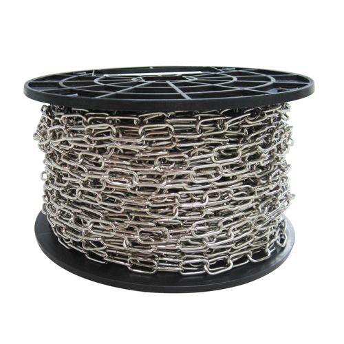 Sencys decoratieve ketting staal zilver 2 mm x 1 m