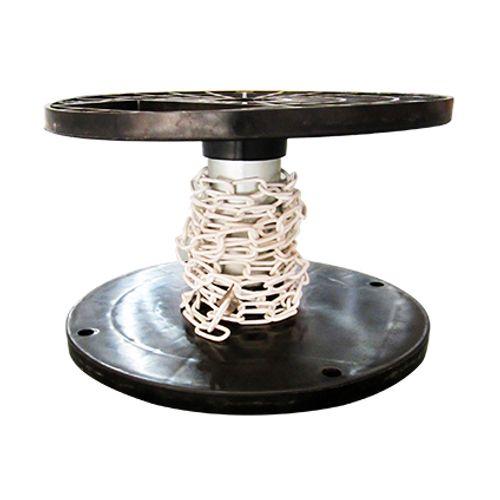 Sencys decoratieve ketting staal wit 2 mm x 1 m