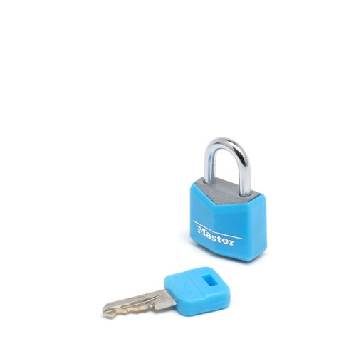Master Lock sloten aluminium 20 mm - 2 stuks