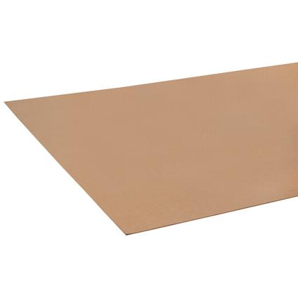 Panneau dur JéWé brun 244x122x0,3cm