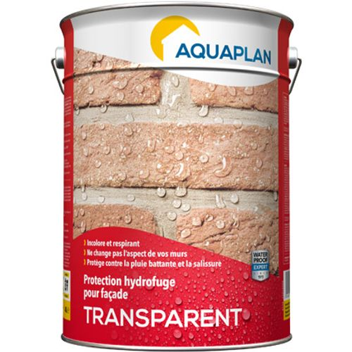 "Aquaplan buitenmuren coating ""Transparant"" 1L"