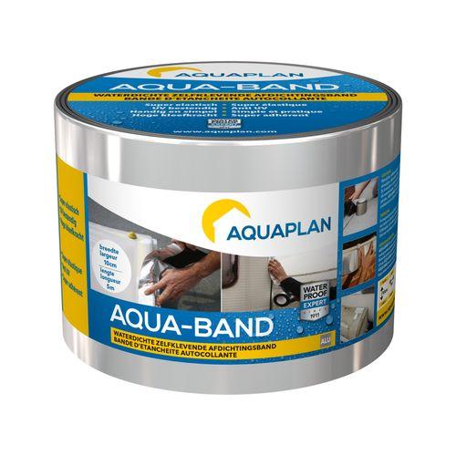 """Aquaplan zelfklevende afdichtingsband """"Aqua-band"""" alu 5mx10cm"""