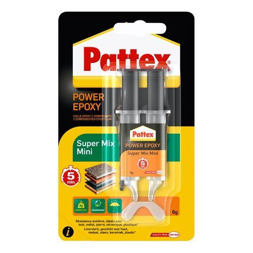 Colle 2 composants Pattex 'Power Epoxy Super' 6g