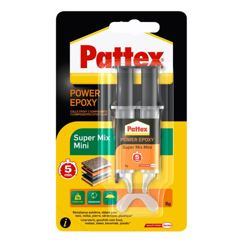 Pattex 2-componentenlijm 'Power Epoxy Super' 6gr
