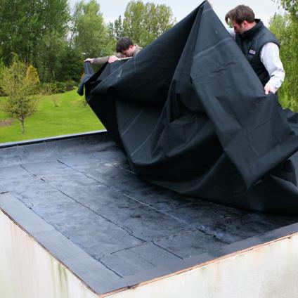 Toiture en caoutchouc Aquaplan EPDM 2,80 X 0,50 m