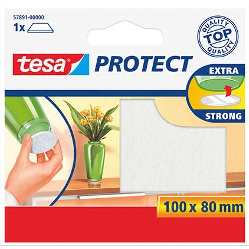 Tesa beschermviltjes knipbaar wit