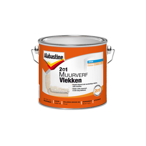 Alabastine nicotineverf synthetisch 2 in 1 2,5L